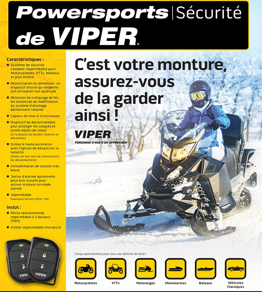 Alarmes VIPER POWERSPORTS